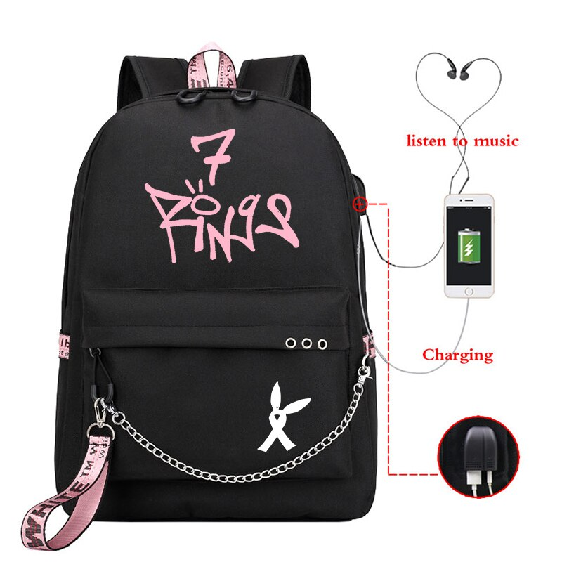 ariana grande backpack