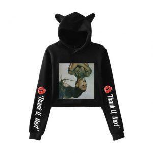 Ariana Grande Cropped Hoodie #2