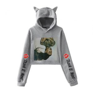 Ariana Grande Cropped Hoodie #3