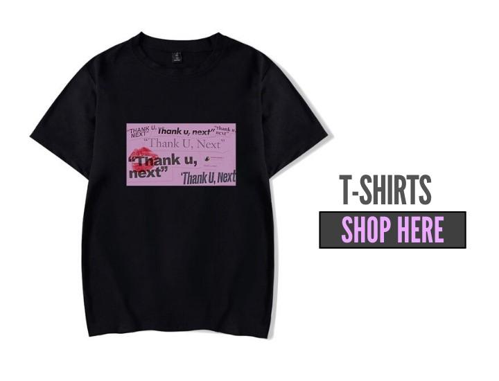 ariana grande t-shirts